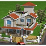 Nirmal Dham 3D Birds Eye View