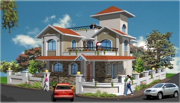 Nirmal Dham 3D Front Image